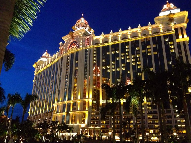 Macau Galazy hotel and casino no copyright photo Brenden Brain
