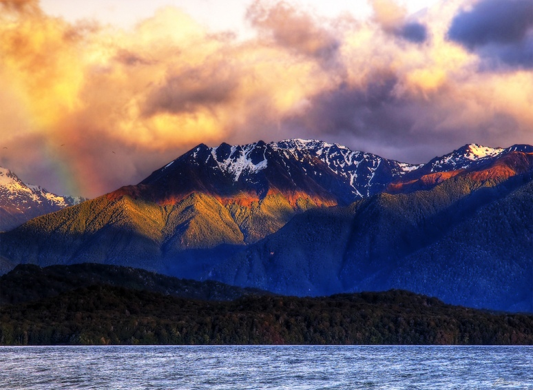 new zealand Lake te anau no copyright photographer paul bica