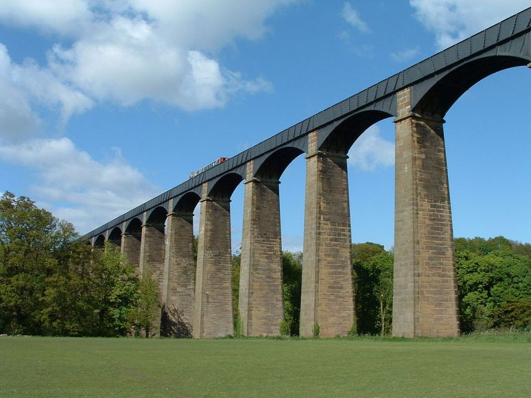 Pontcysyllte Aqueduct no copyright wales, uk