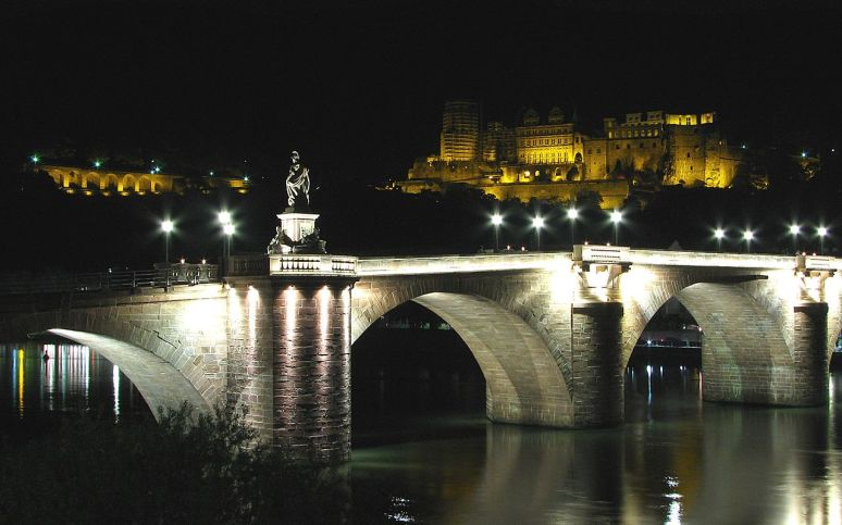 the_Old_Bridge_(Alte_Brücke)_and_the_Heidelberg's_Castle photographer Polansky