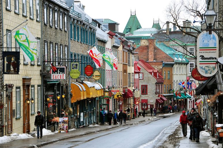 quebec city, quebec no copyright photographer Chensiyuan
