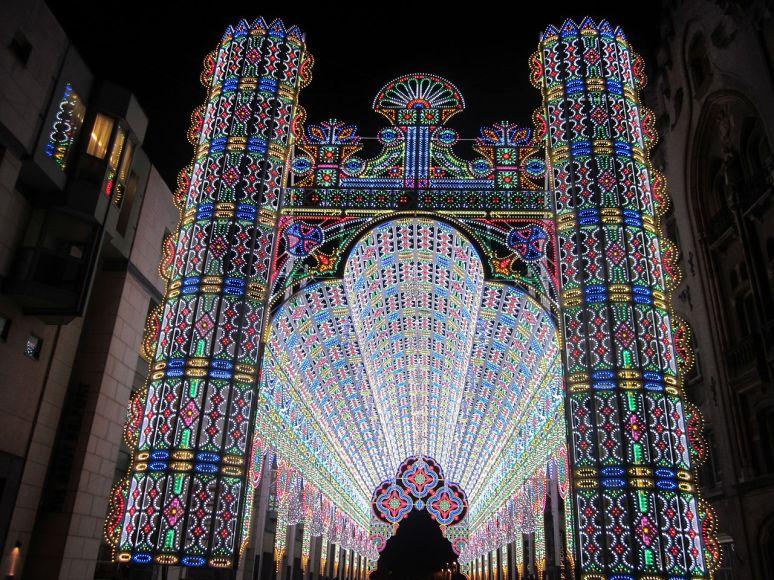 Ghent, belgium light festival no copyright photographer Zeisterre